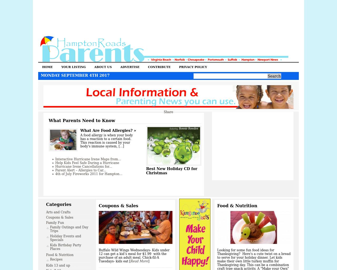 Hampton-Roads-Parents-Advertising-Reviews-Pricing