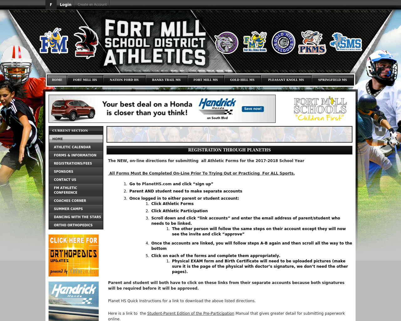 FortmillAthletics.com-Advertising-Reviews-Pricing