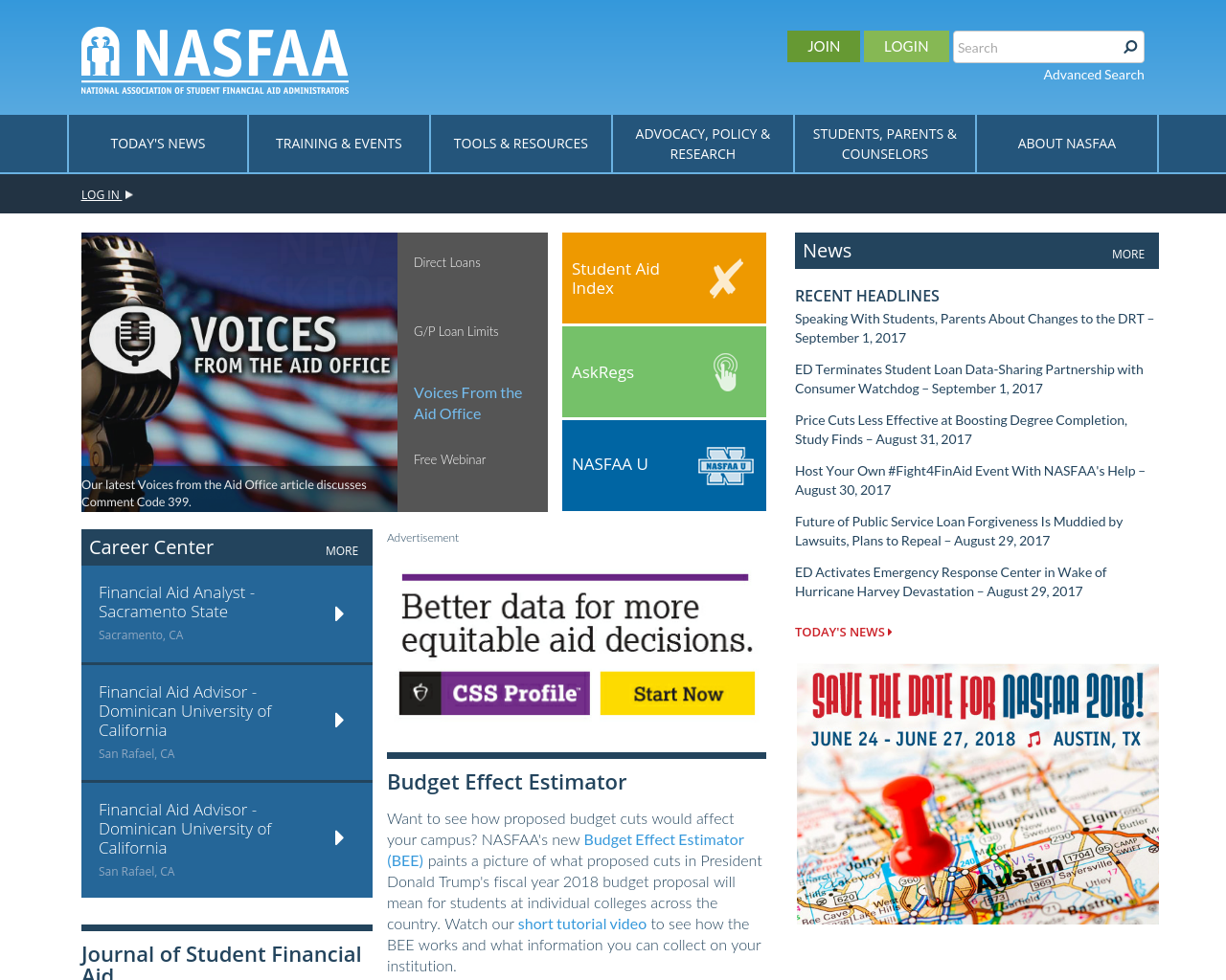 NASFAA-Advertising-Reviews-Pricing