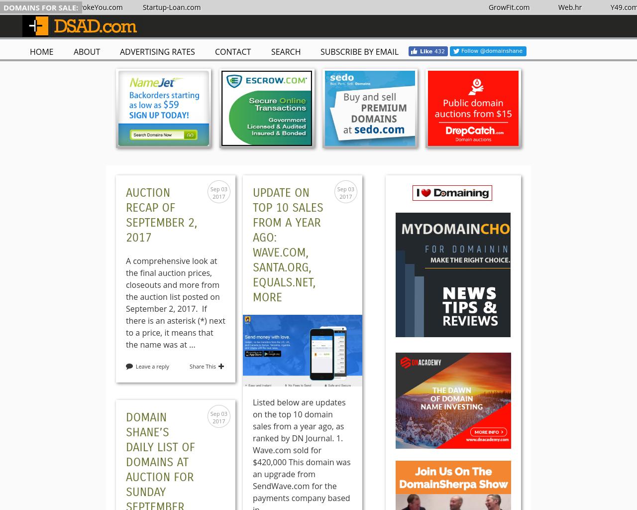Domainshane.com-Advertising-Reviews-Pricing
