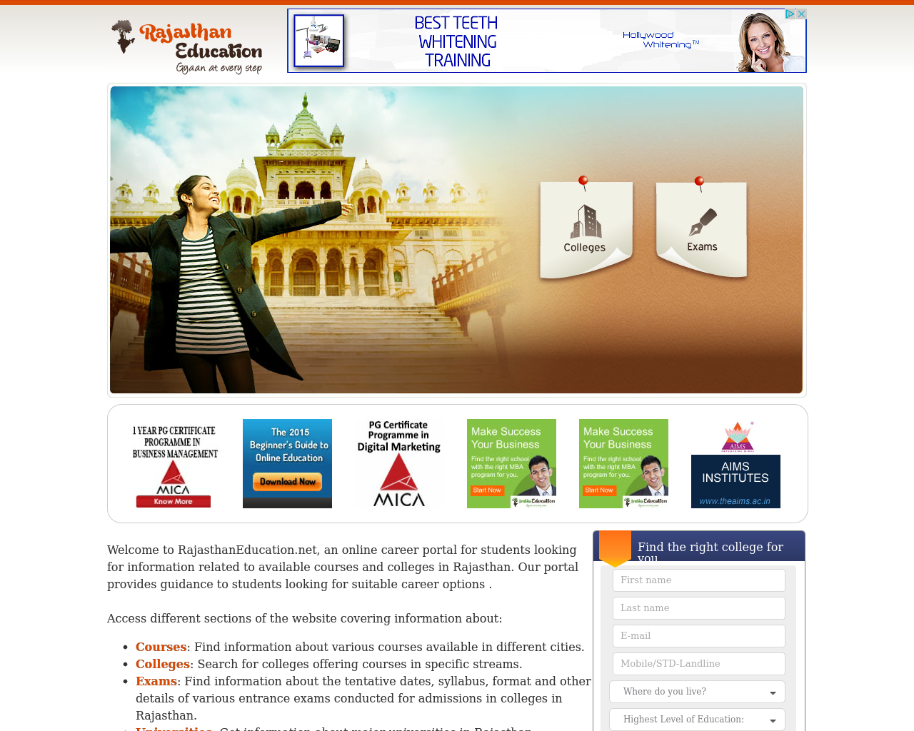Rajasthaneducation-Advertising-Reviews-Pricing
