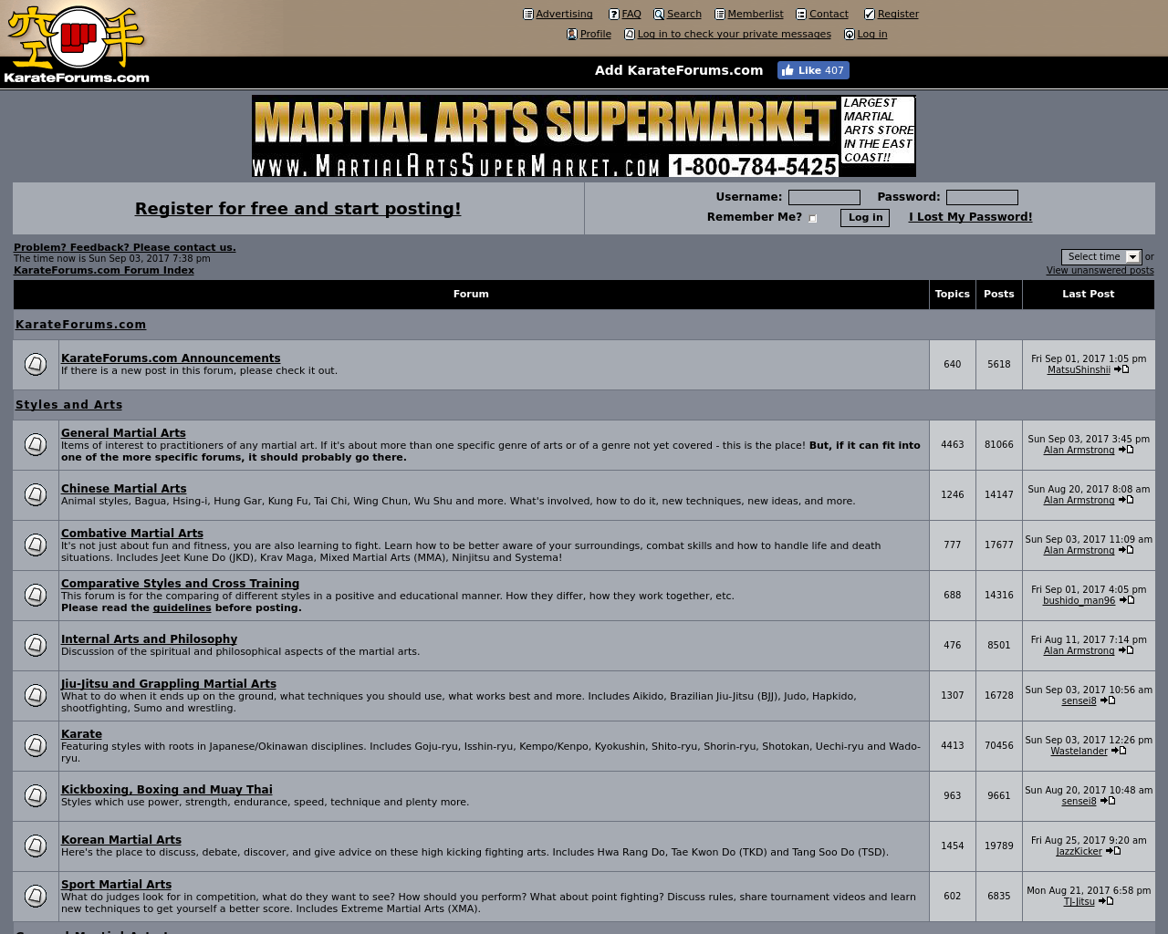 Karate-Forums-Advertising-Reviews-Pricing