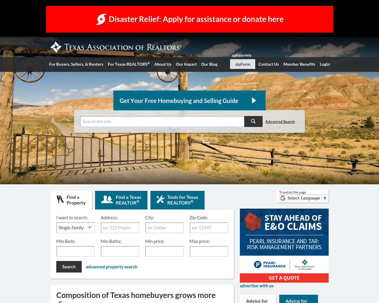 Texas-Association-of-Realtor-Advertising-Reviews-Pricing
