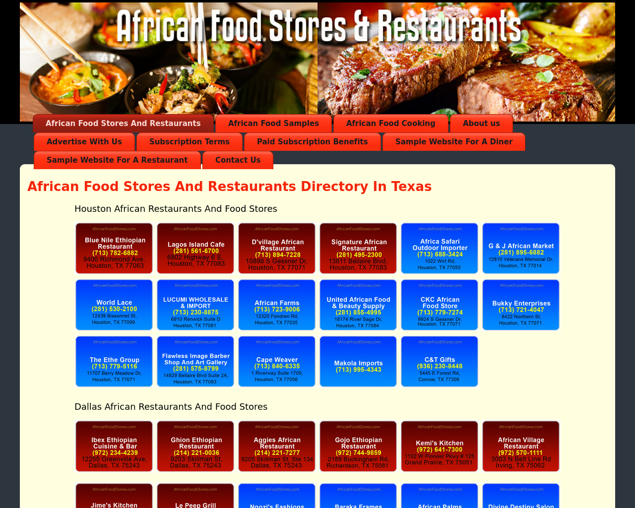African-Food-Stores-&-Restaurants-Advertising-Reviews-Pricing