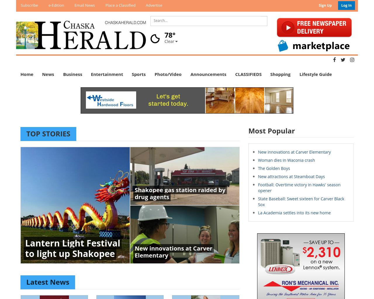 Chaska-Herald-Advertising-Reviews-Pricing