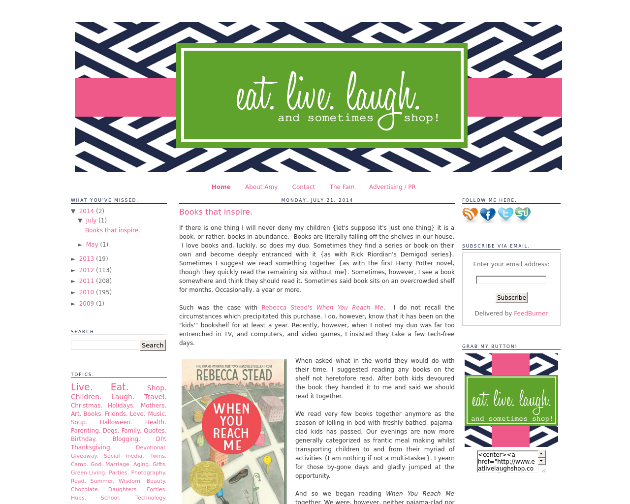 Eat.-Live.-Laugh.-Advertising-Reviews-Pricing