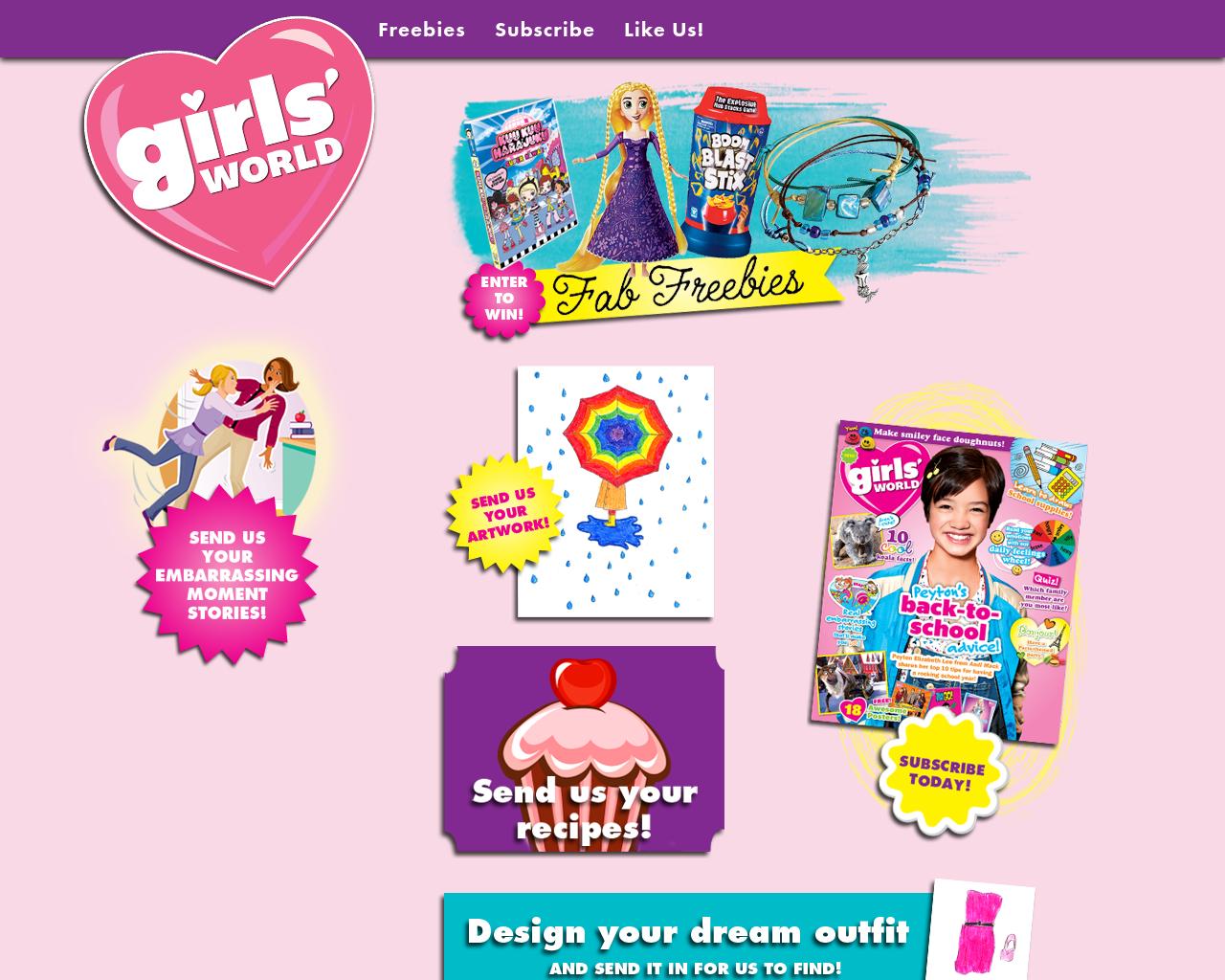 Girls'-World-Advertising-Reviews-Pricing