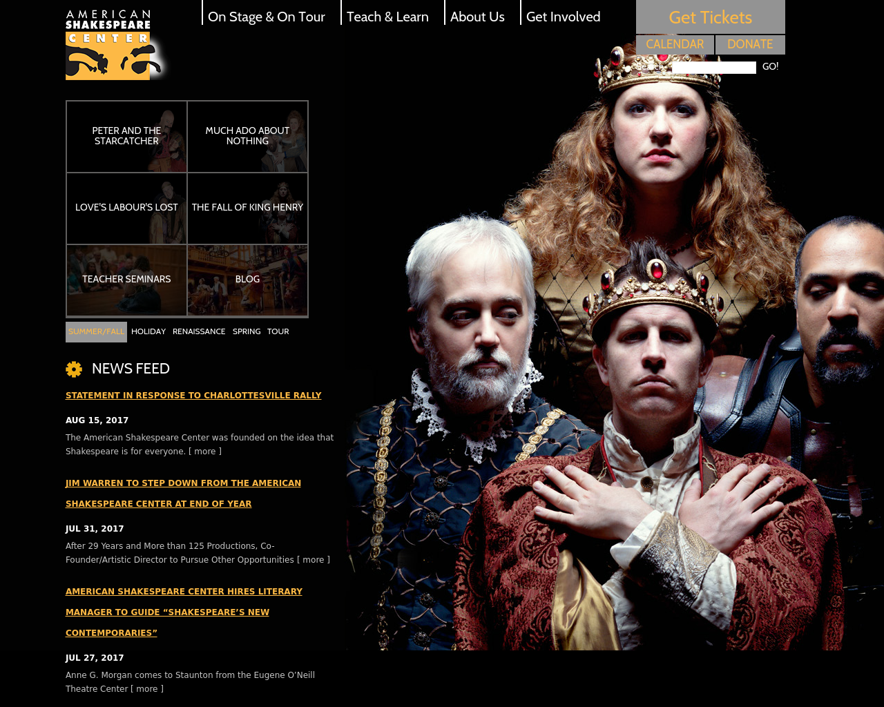 American-Shakespeare-Center-Advertising-Reviews-Pricing