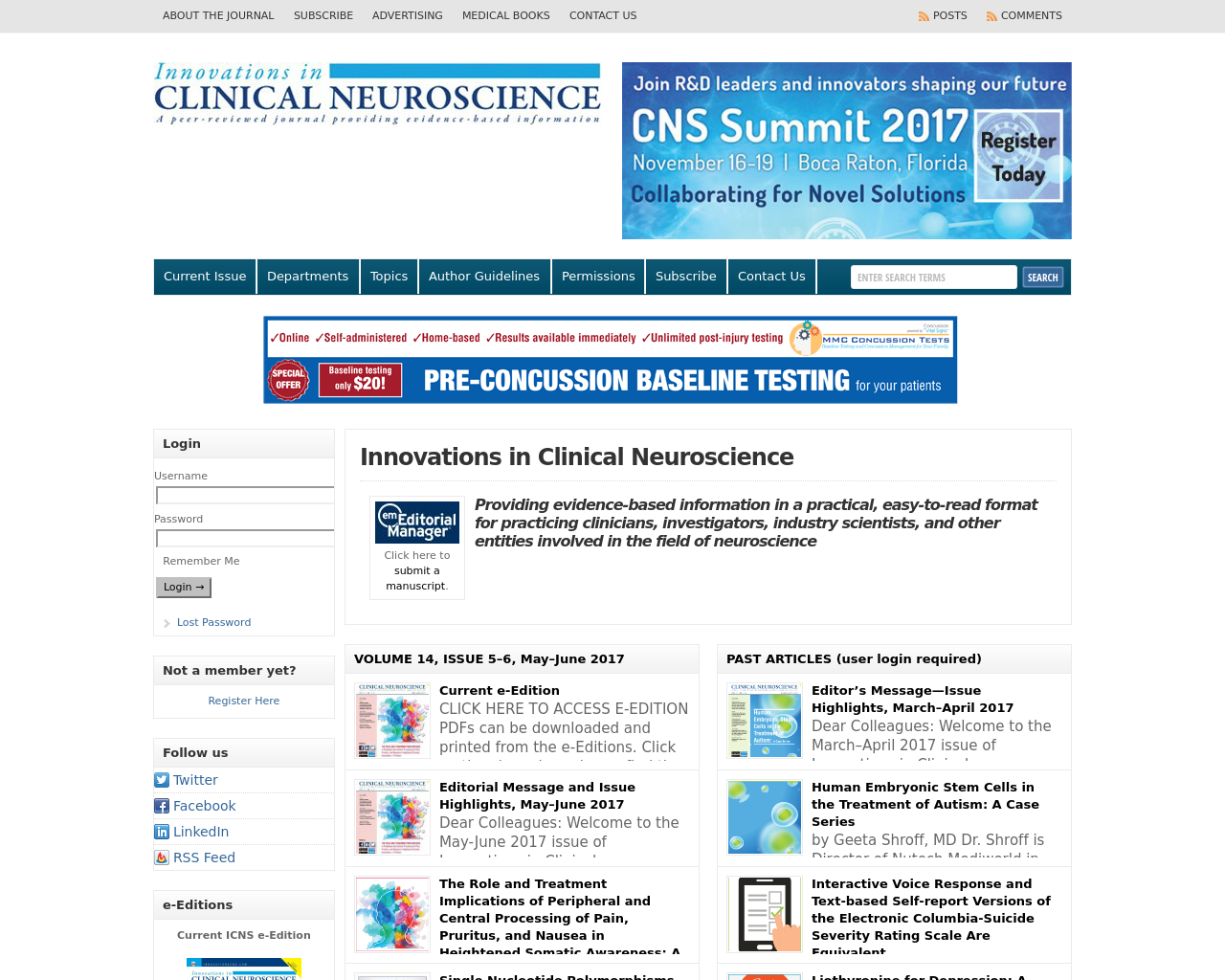 CLINICAL-NEUROSCIENCE-Advertising-Reviews-Pricing