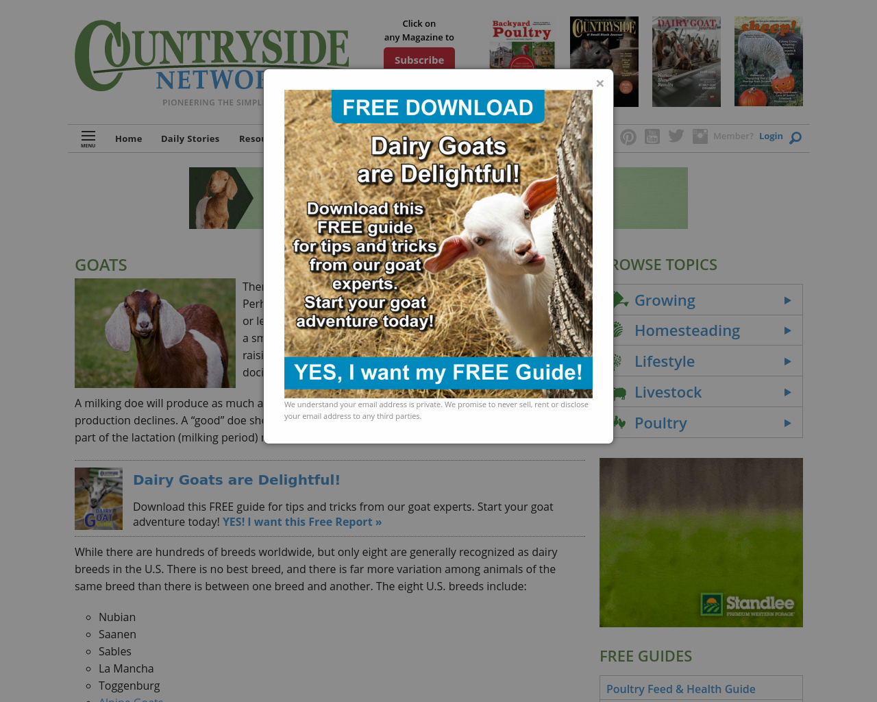Dairy-Goat-Journal-Advertising-Reviews-Pricing