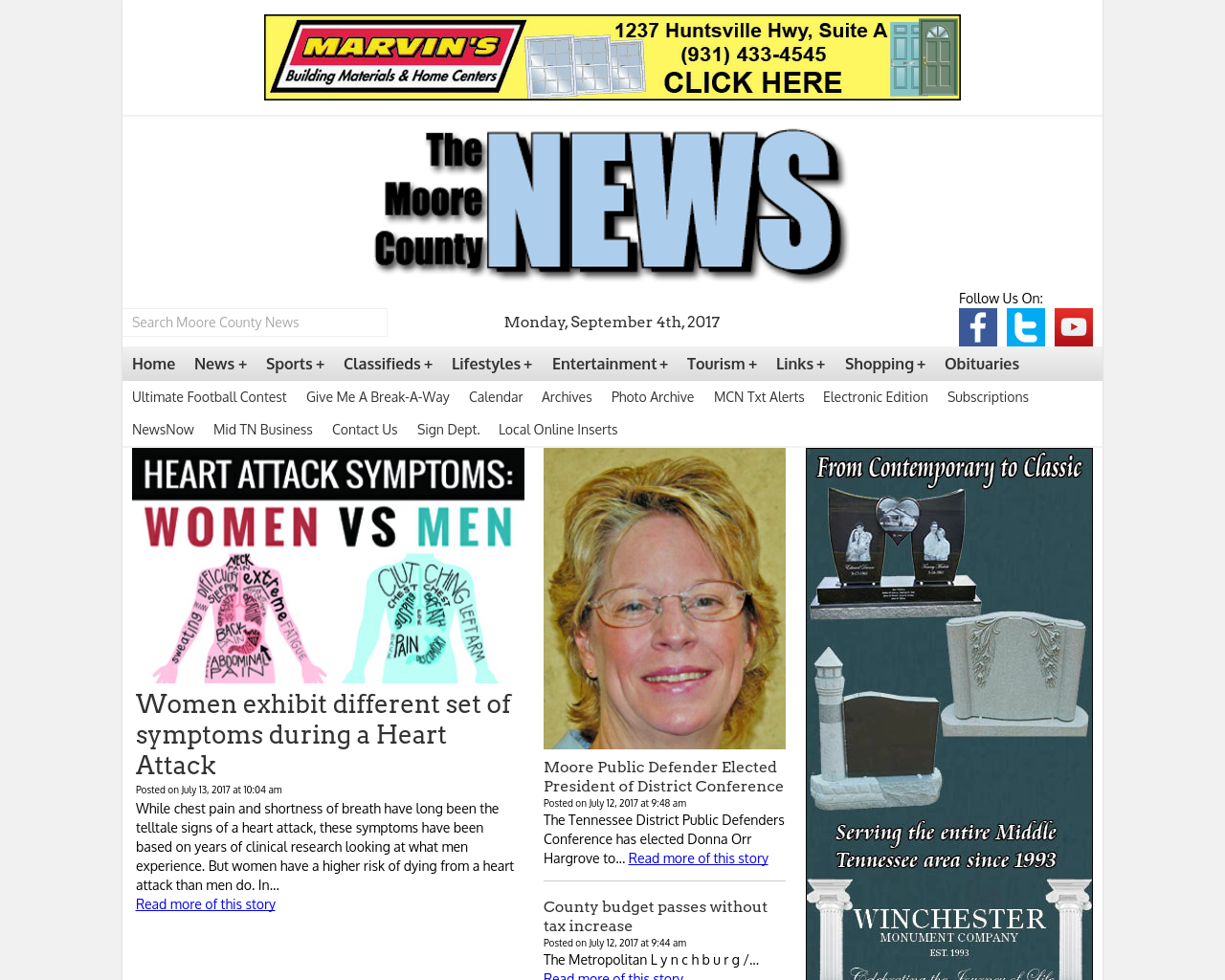 Moore-County-News-(Lakeway-Publishers,-Inc)-Advertising-Reviews-Pricing