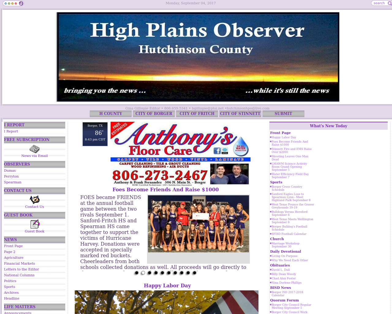 High-Plains-Observer-Hutchinson-County-Advertising-Reviews-Pricing