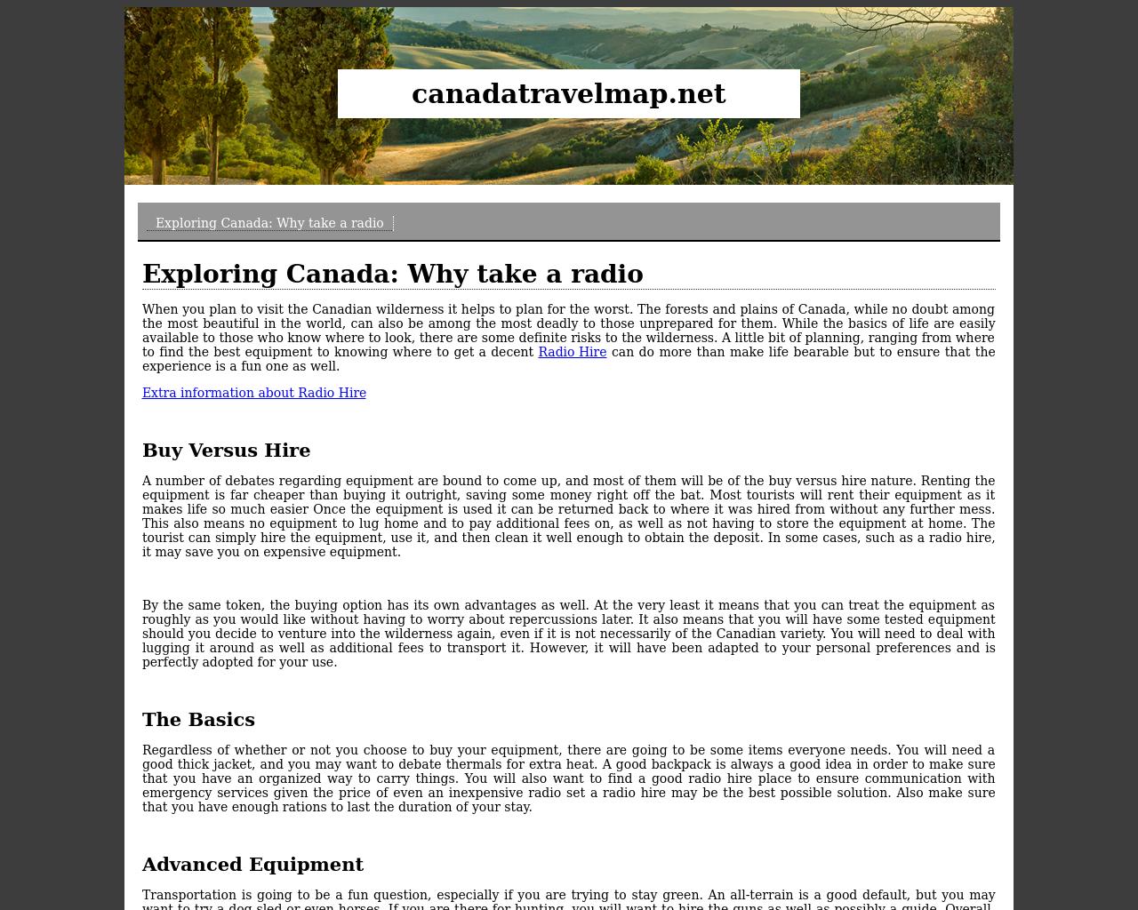 Canada-Vacation-Advertising-Reviews-Pricing