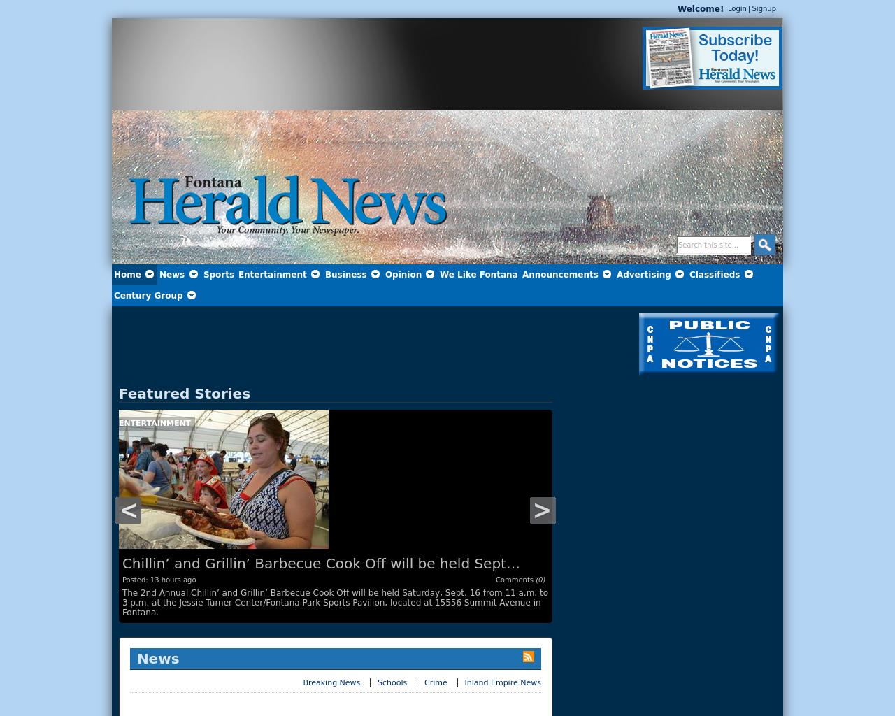Fontana-Herald-News-Advertising-Reviews-Pricing