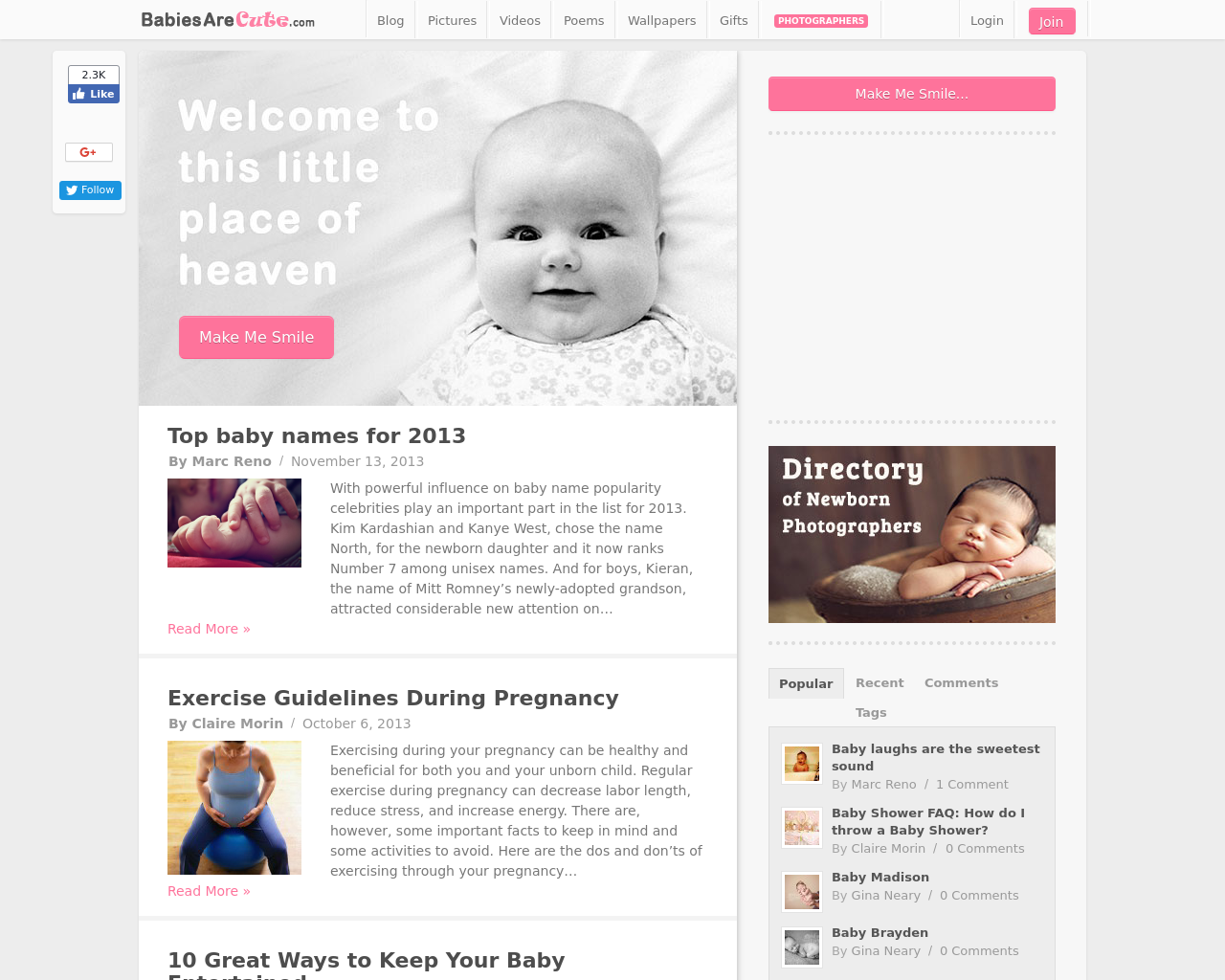 BabiesAreCute.com-Advertising-Reviews-Pricing