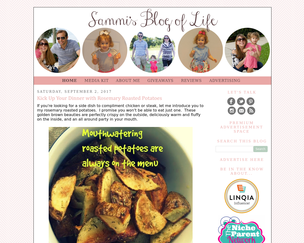 Sammi's-Blog-Of-Life-Advertising-Reviews-Pricing