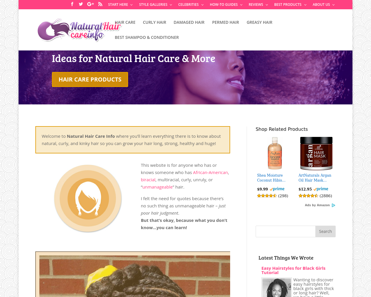 Natural-Hair-Care-Info.com-Advertising-Reviews-Pricing