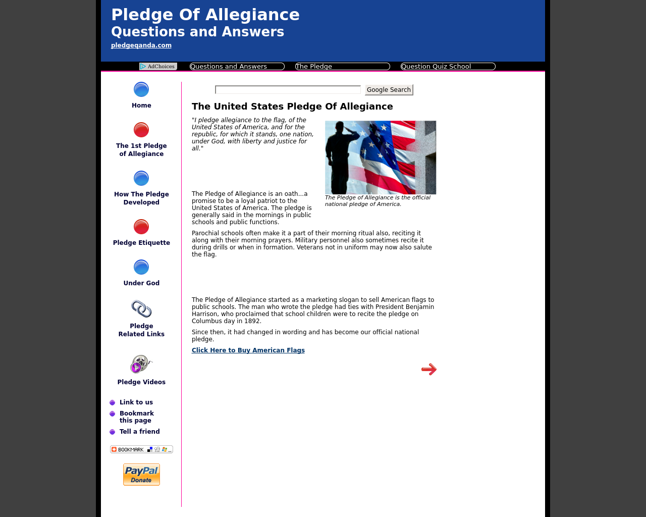 Pledge-Of-Allegiance-Questions-and-Answers-Advertising-Reviews-Pricing