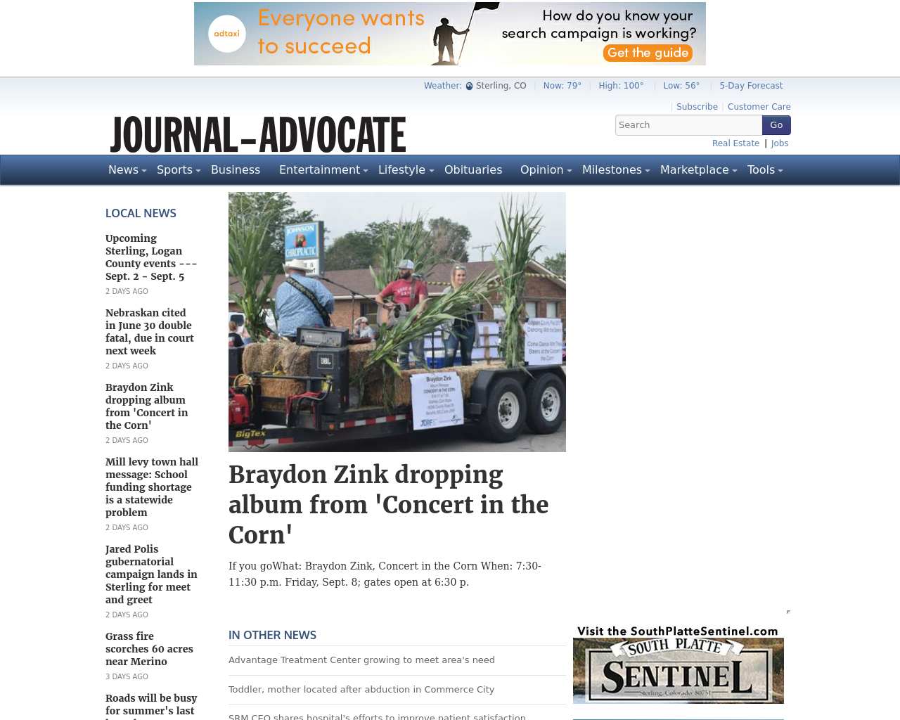 Journal-Advocate-Advertising-Reviews-Pricing