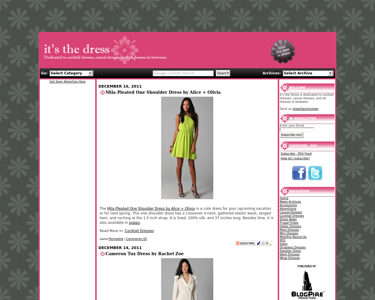 Itsthedress.com-Advertising-Reviews-Pricing