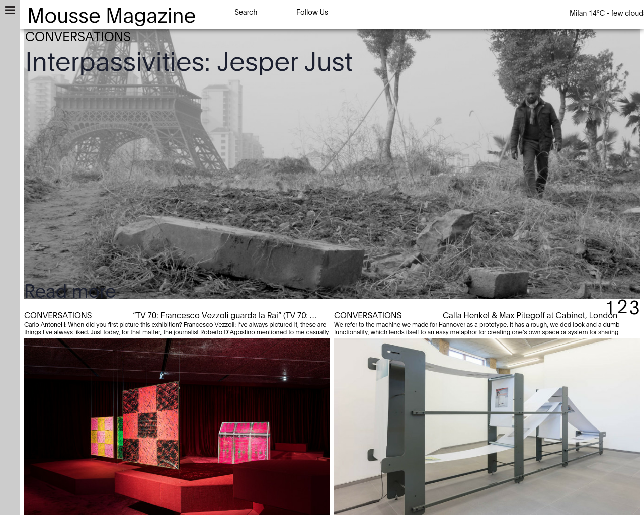 Mousse-Contemporary-Art-Magazine-Advertising-Reviews-Pricing