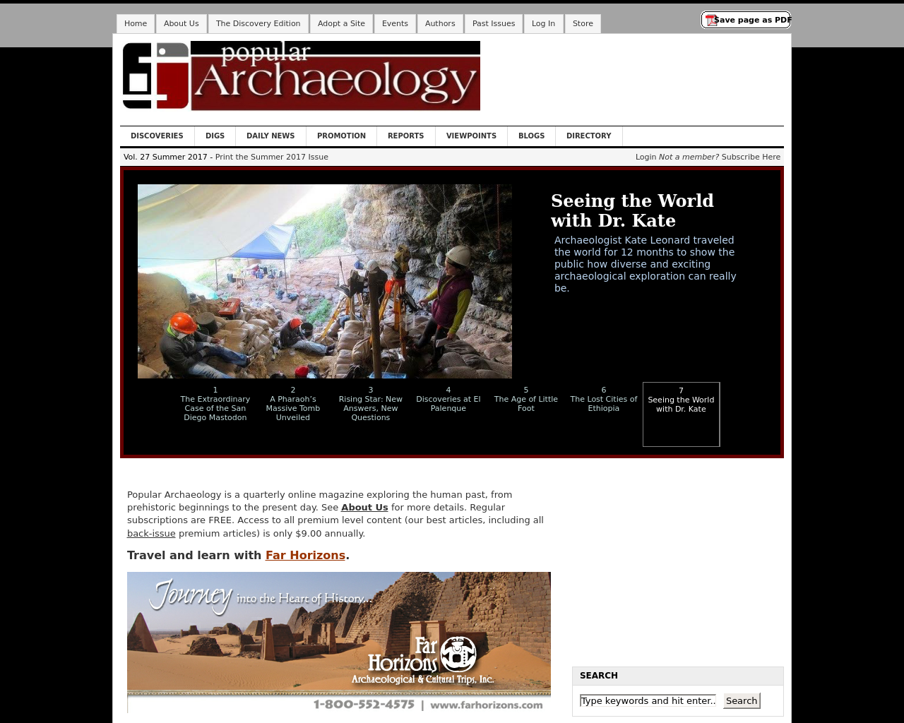 Popular-Archaeology-Advertising-Reviews-Pricing