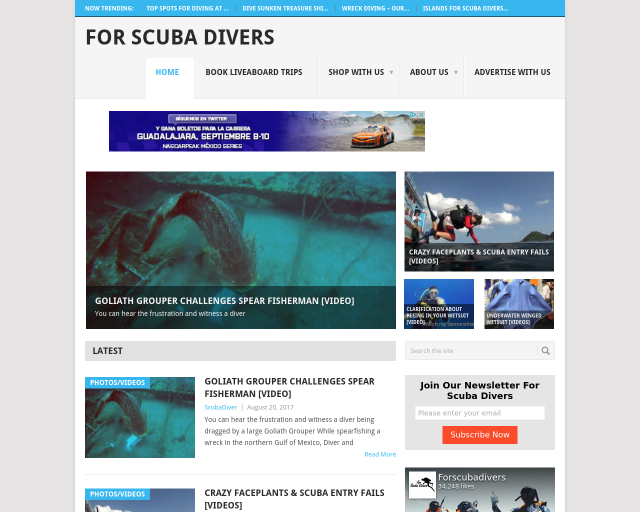 For-Scuba-Divers-Advertising-Reviews-Pricing