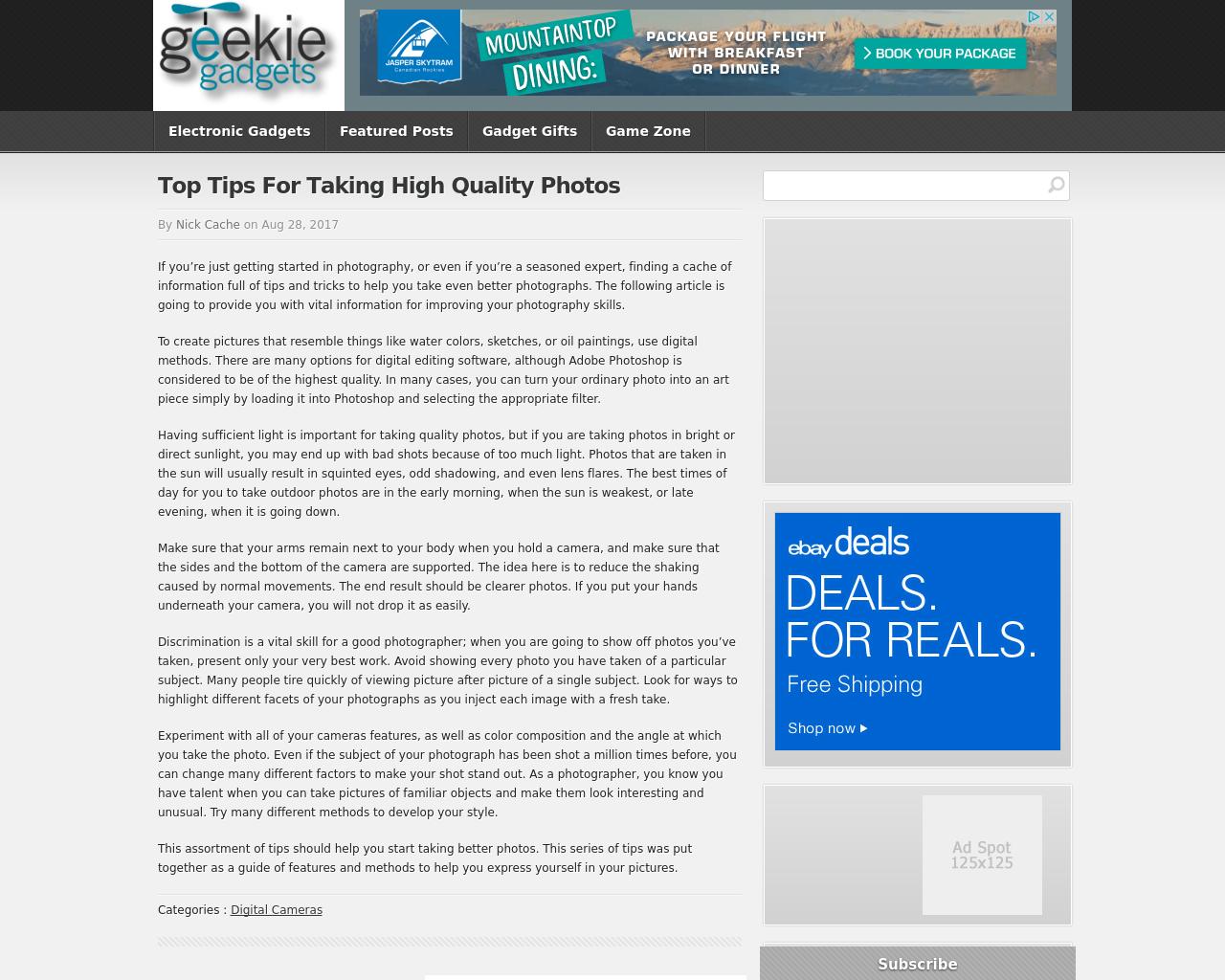 Geekie-Gadgets-Advertising-Reviews-Pricing