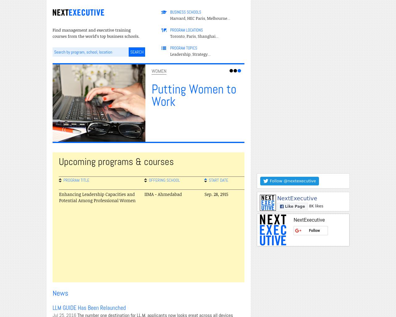 NextExecutive-Advertising-Reviews-Pricing