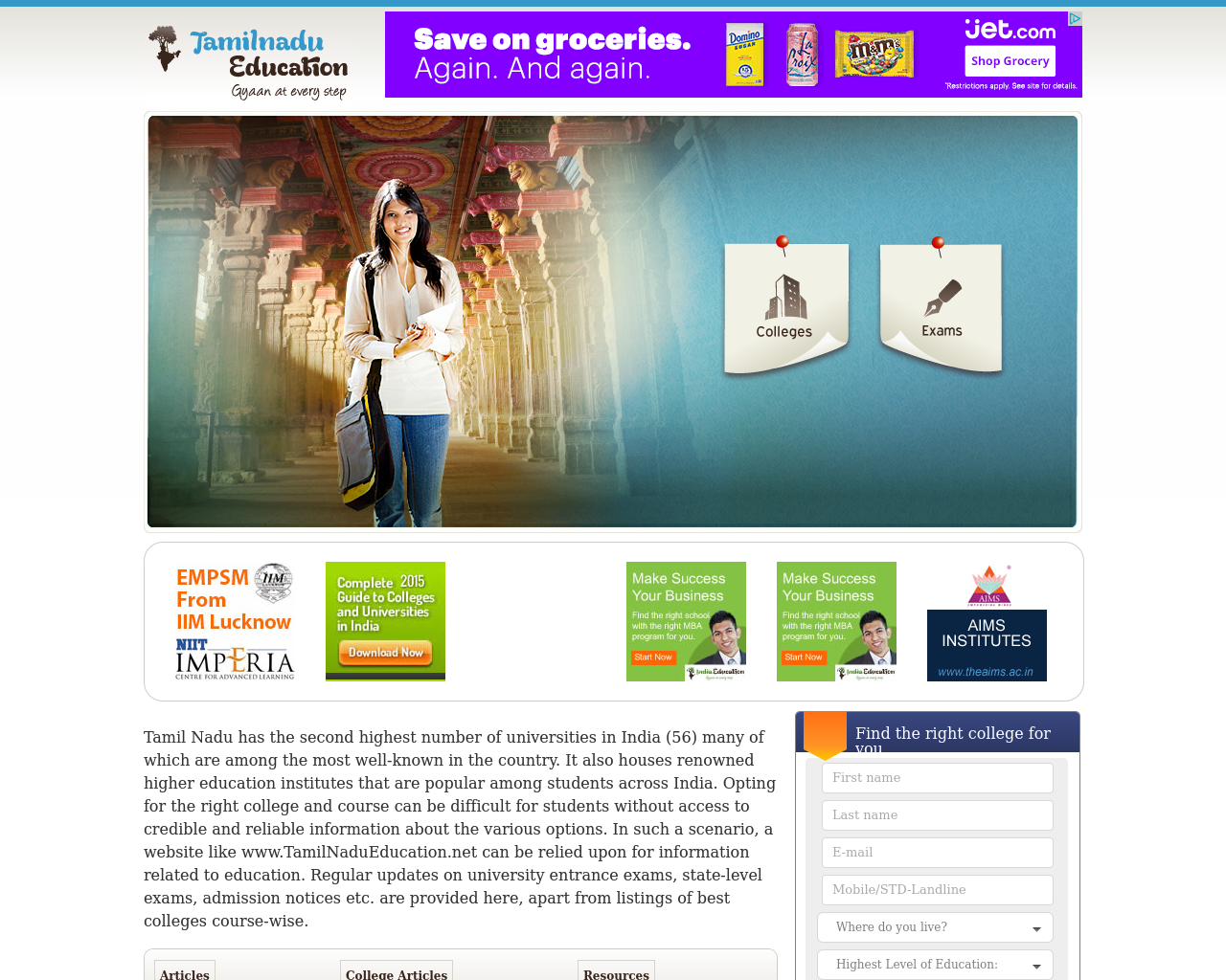 Tamil-Nadu-Education-Advertising-Reviews-Pricing