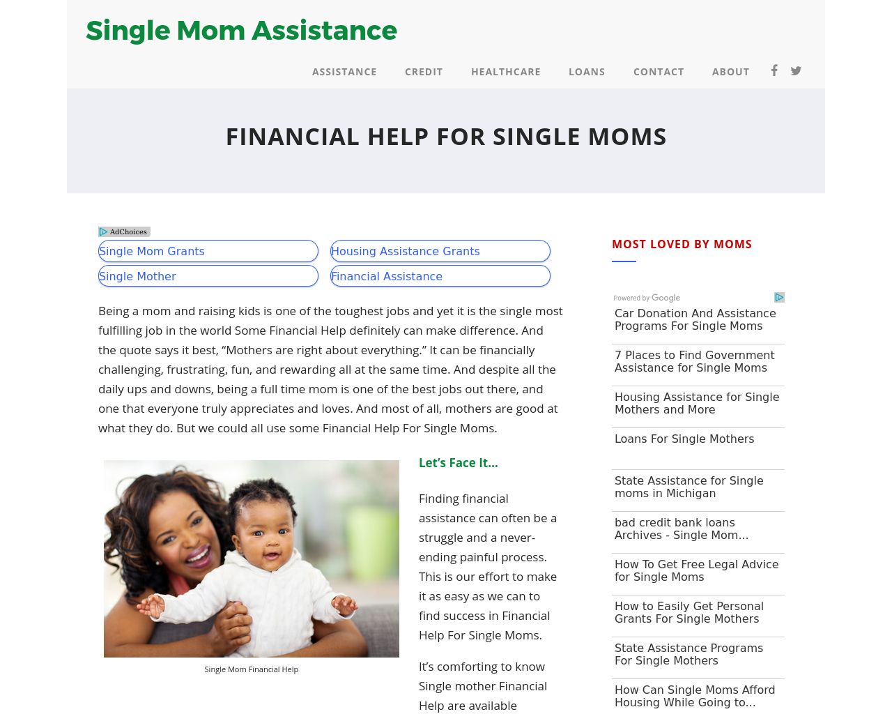 Single-Mom-Financial-Help-Advertising-Reviews-Pricing