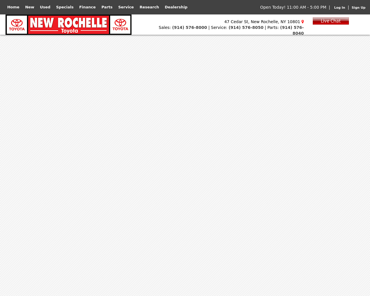 New Rochelle Toyota Advertising Reviews Pricing