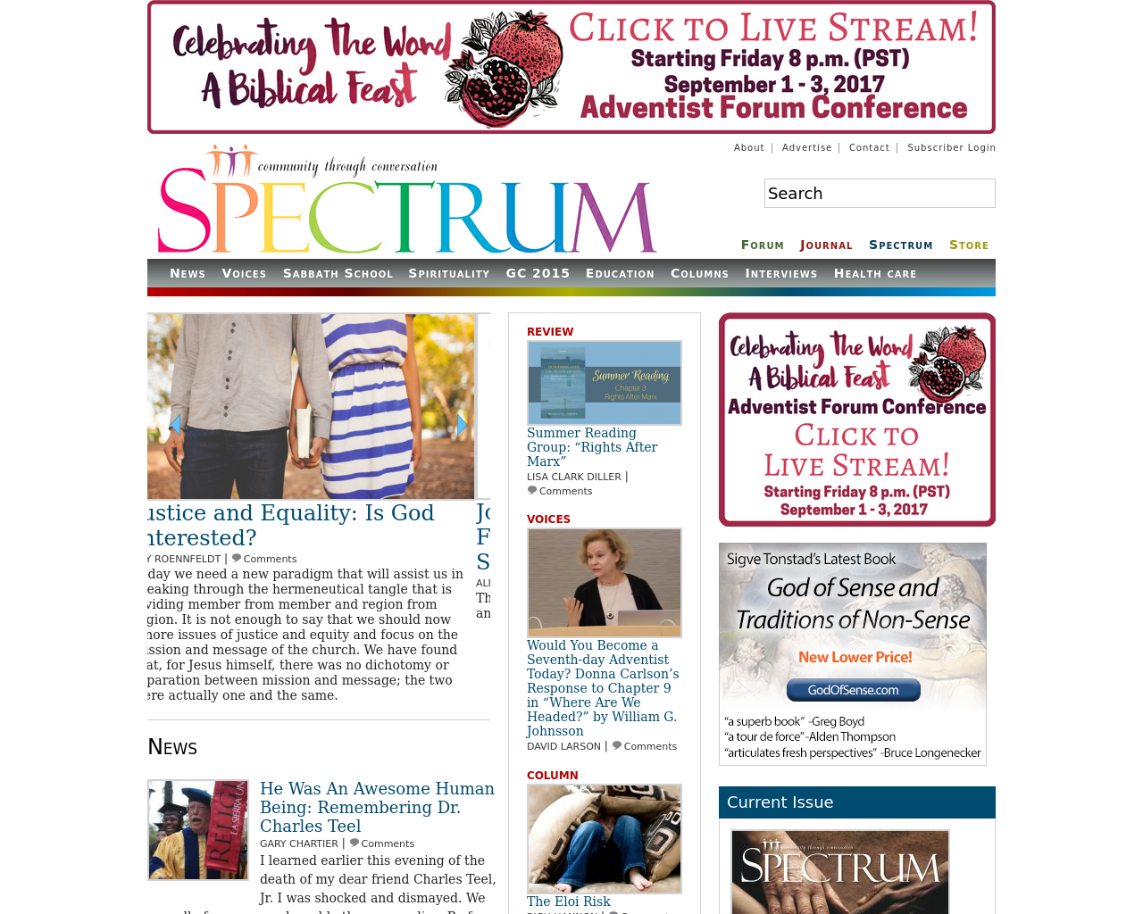 Spectrummagazine.org-Advertising-Reviews-Pricing