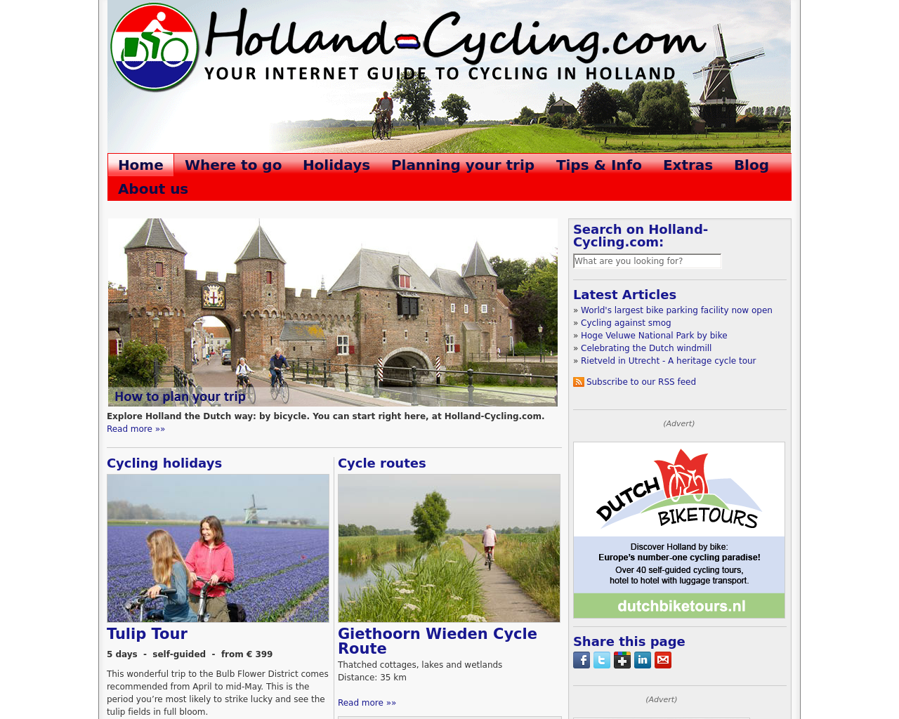 Holland-Cycling.com-Advertising-Reviews-Pricing