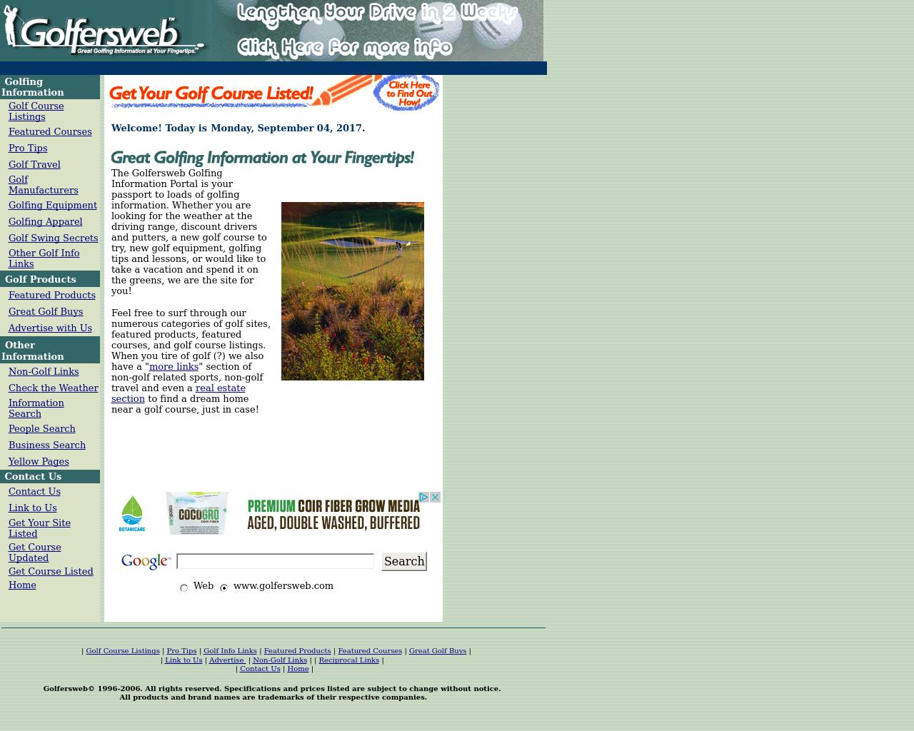 Golfersweb-Advertising-Reviews-Pricing