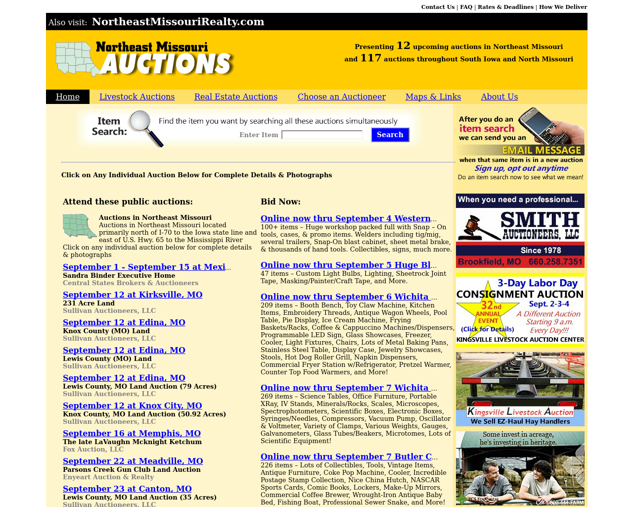 Northern-Missouri-Auctions-Advertising-Reviews-Pricing