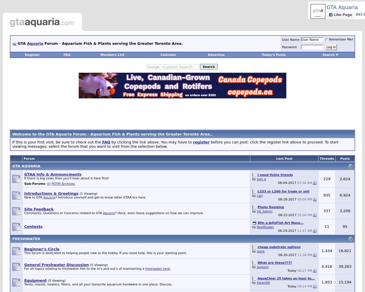 GTA-Aquaria-Forum-Advertising-Reviews-Pricing