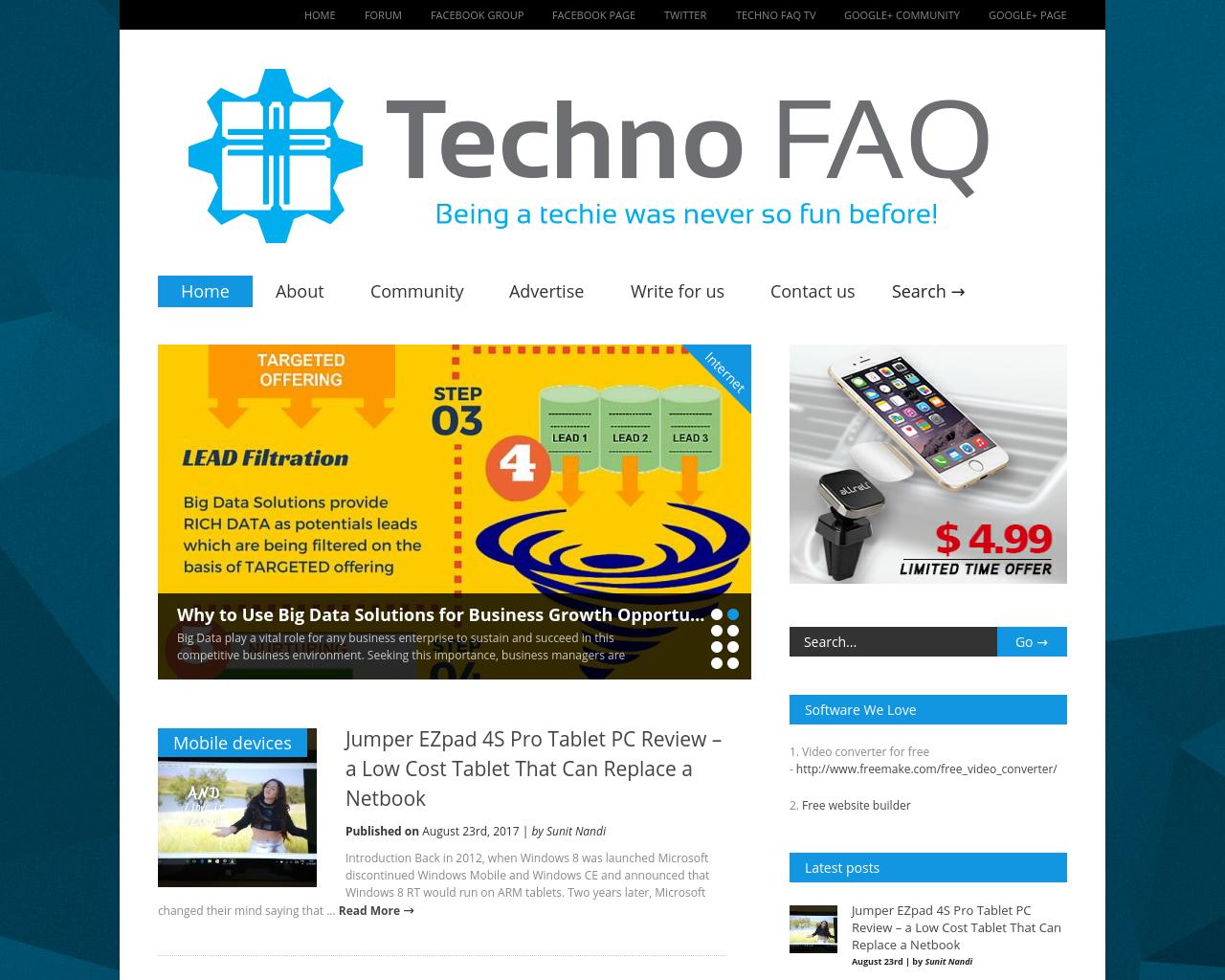 Techno-FAQ-Advertising-Reviews-Pricing