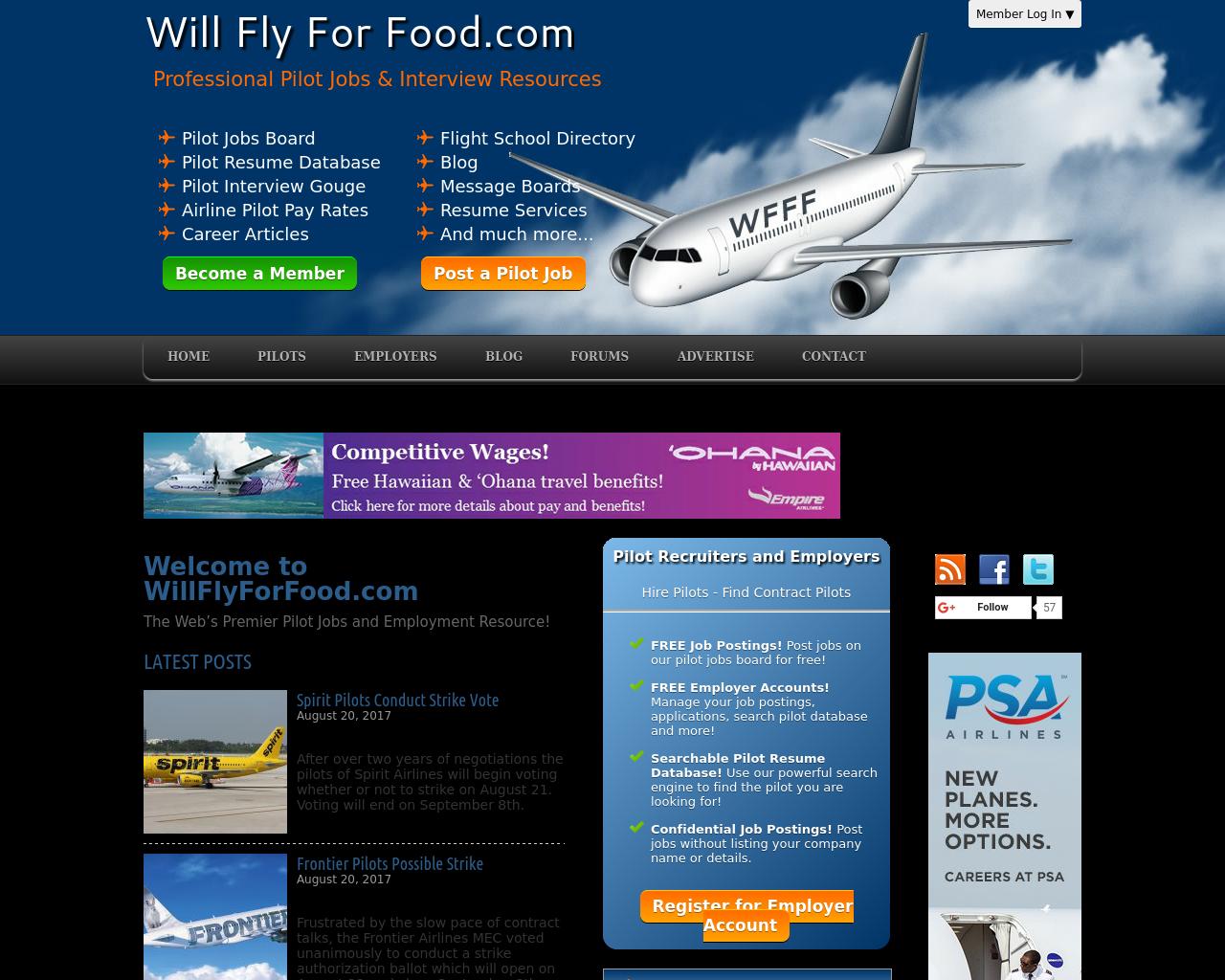 WillFlyForFood.com-Advertising-Reviews-Pricing