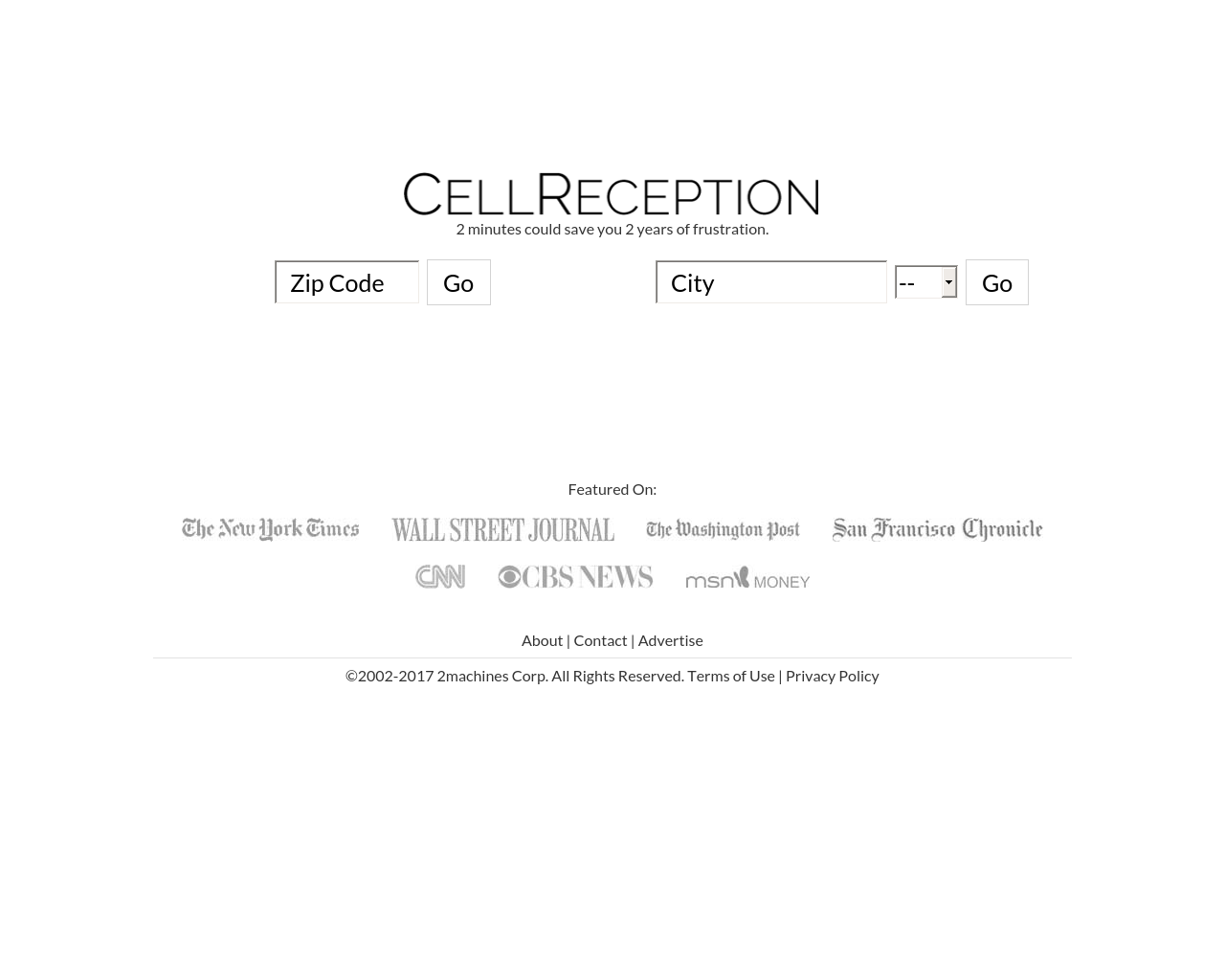 CELL-RECEPTION-Advertising-Reviews-Pricing