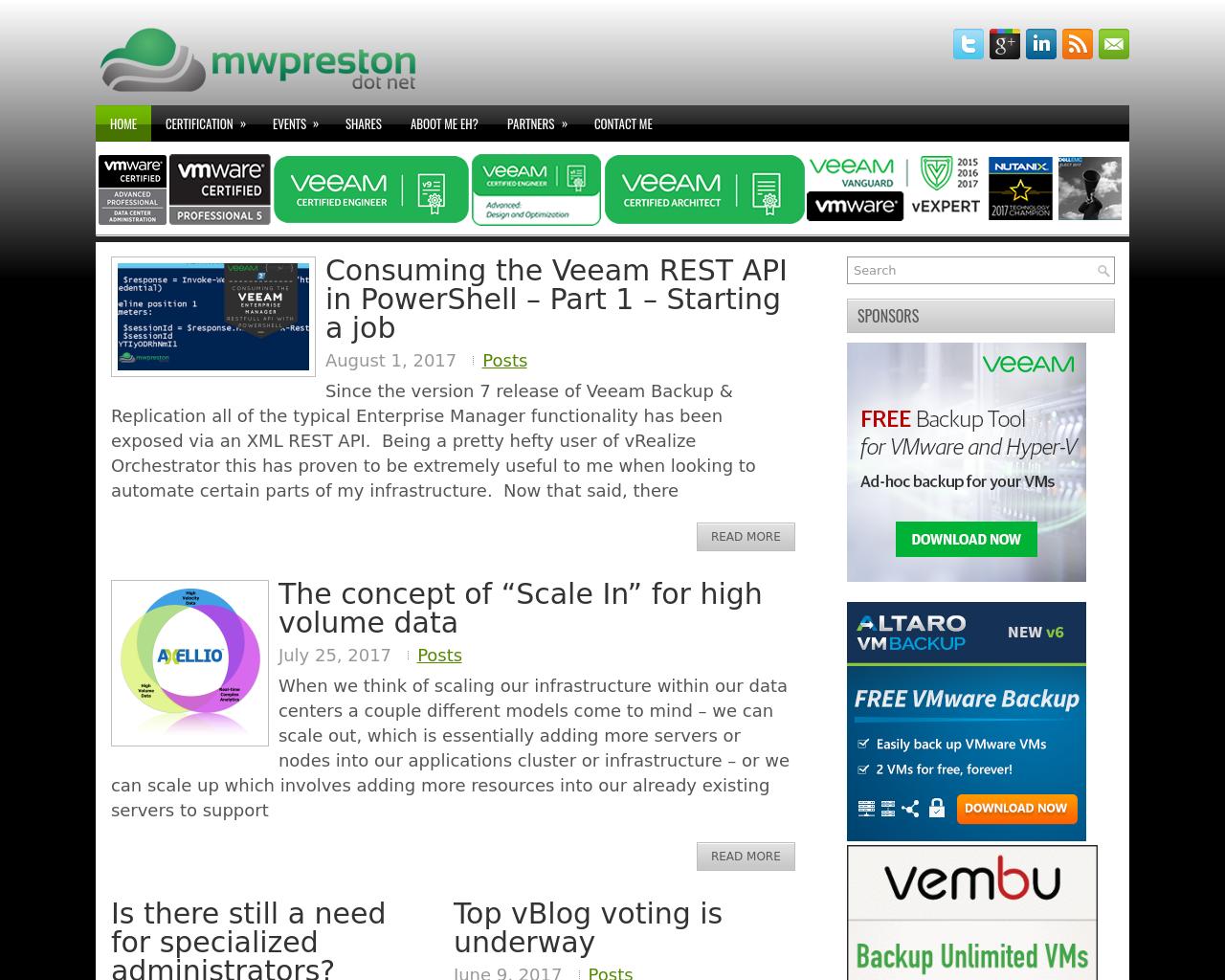 Blog.mwpreston-Advertising-Reviews-Pricing