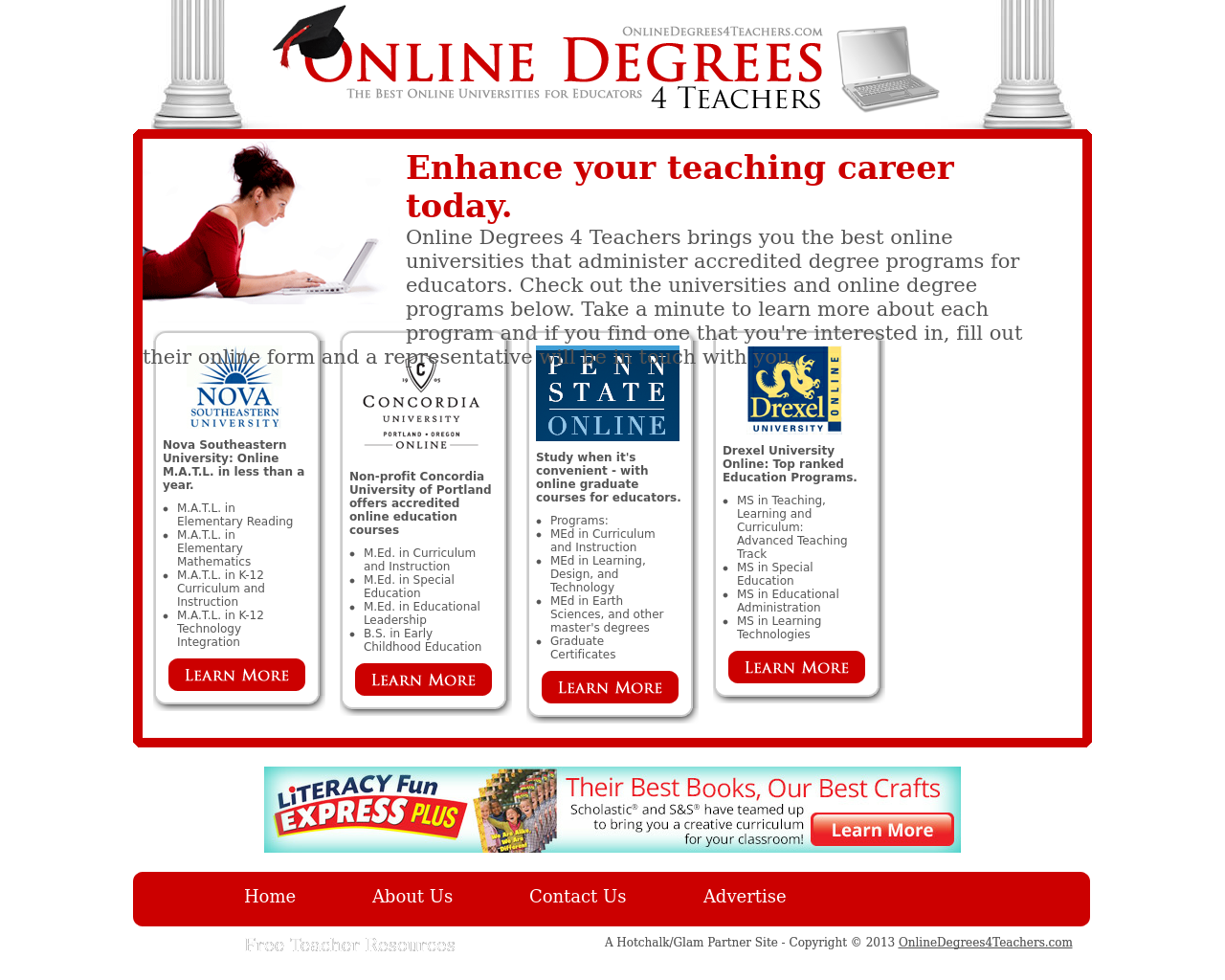 Online-Degrees-4-Teachers-Advertising-Reviews-Pricing