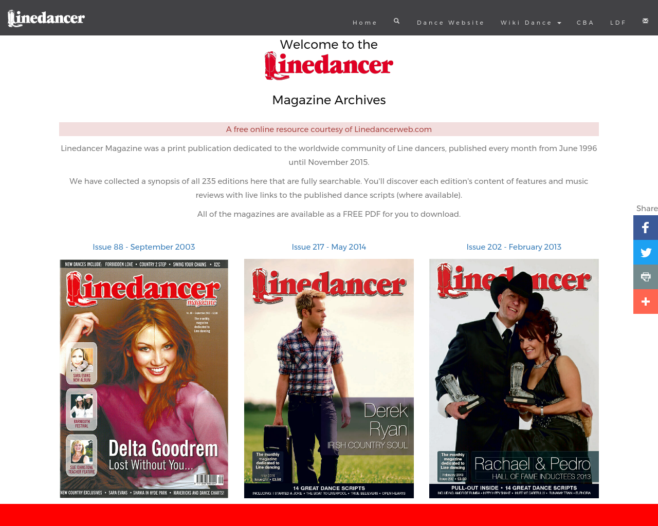 Linedancer-Magazine-Advertising-Reviews-Pricing