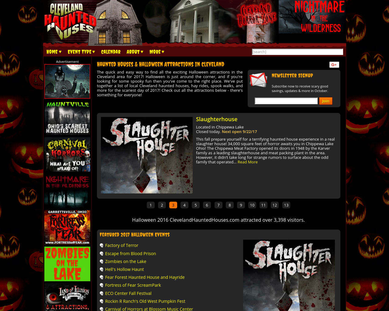 Clevelandhauntedhouses.com-Advertising-Reviews-Pricing
