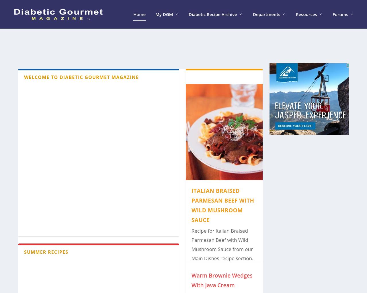 Diabetic-Gourmet-Magazine-Advertising-Reviews-Pricing