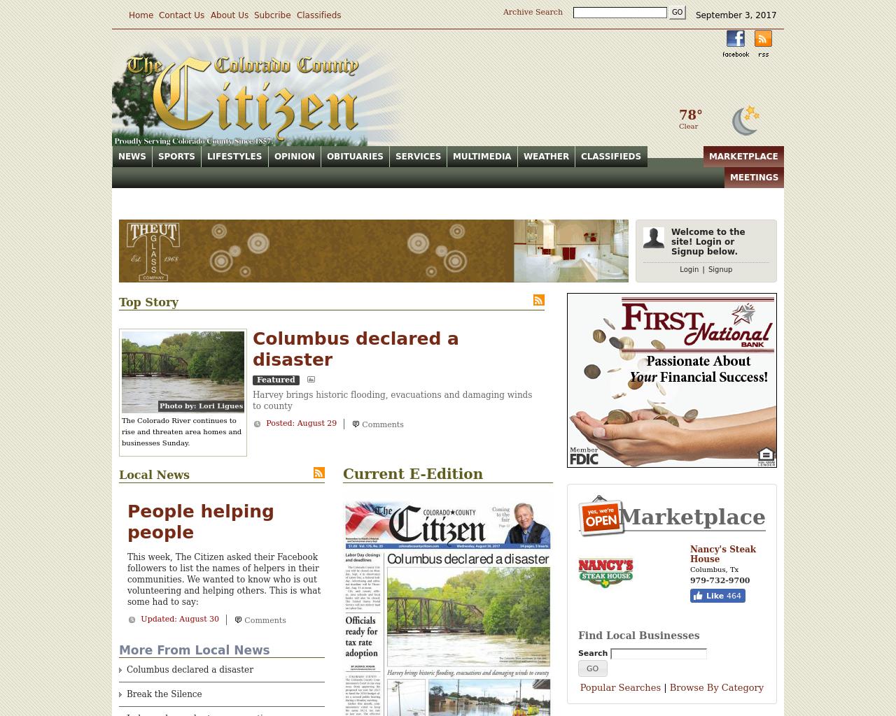 The-Colorado-County-Citizen-Advertising-Reviews-Pricing