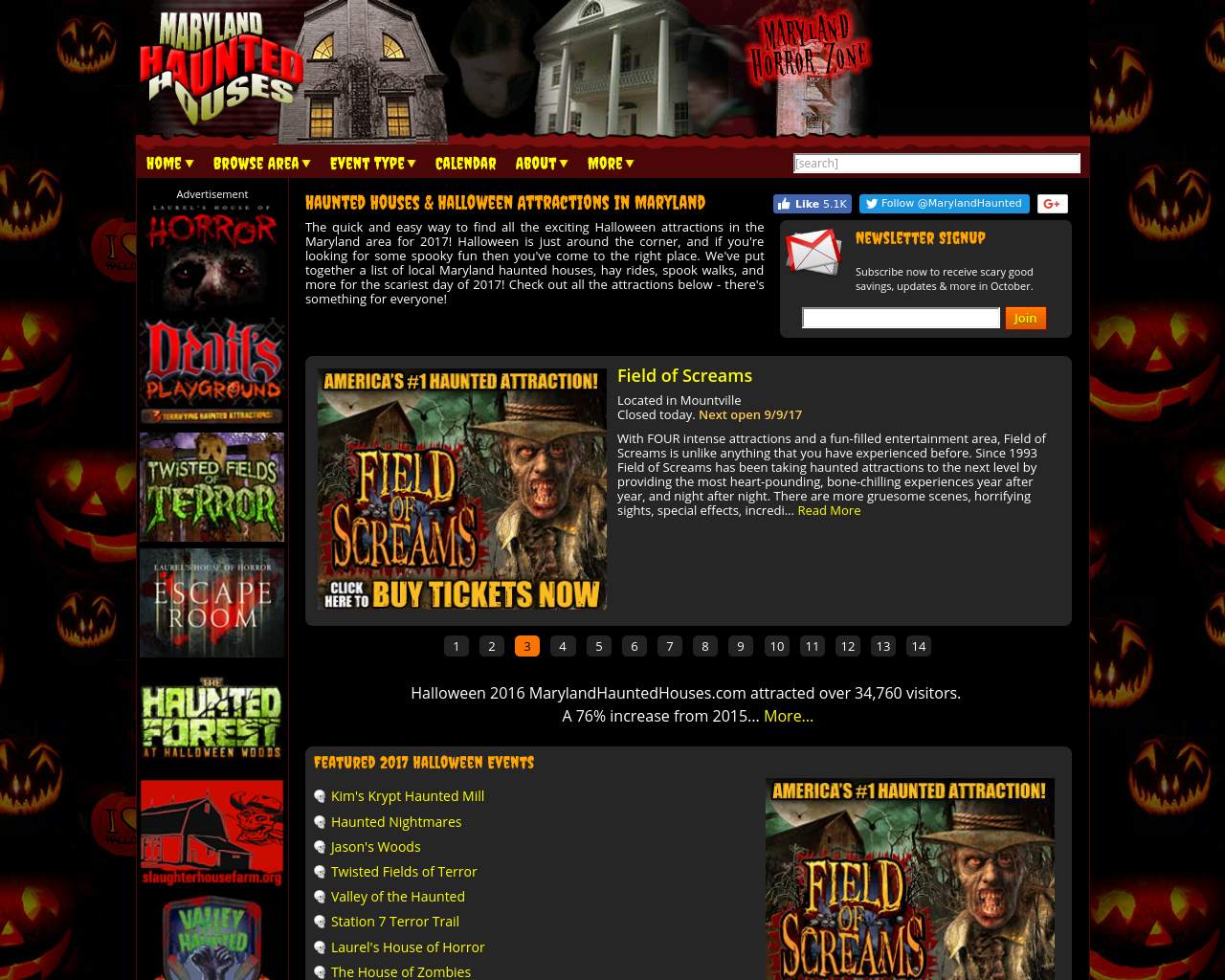 Maryland-Haunted-Houses-Advertising-Reviews-Pricing