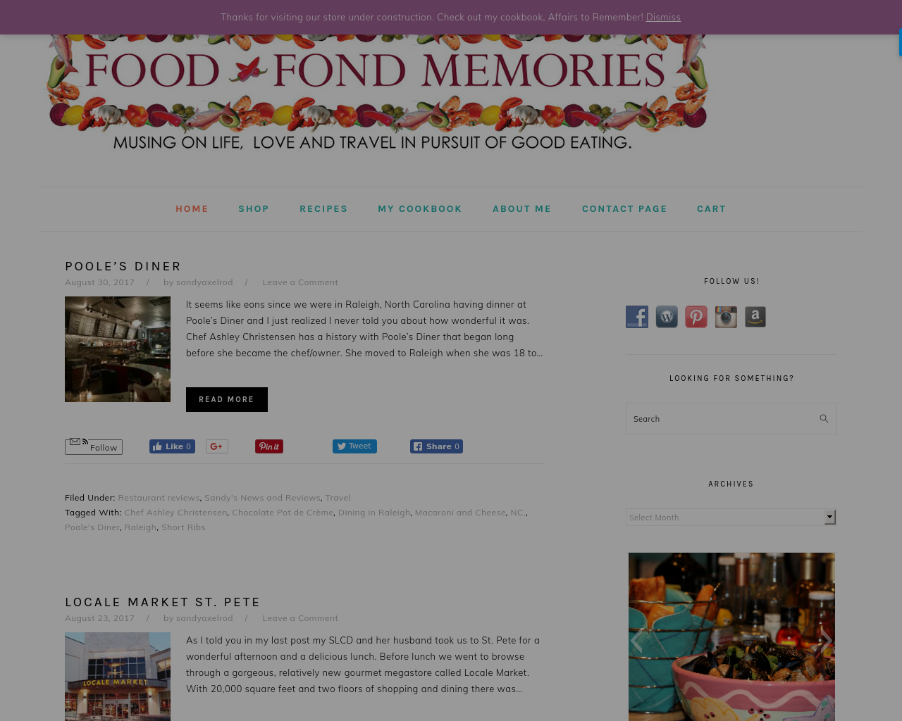 FOOD-AND-FOND-MEMORIES-Advertising-Reviews-Pricing