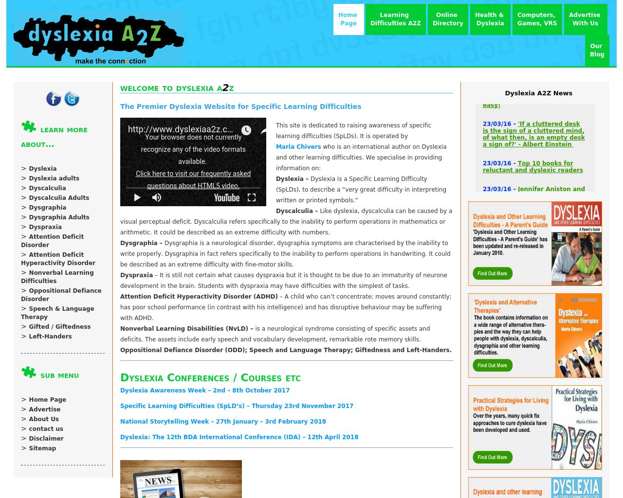 Dyslexia-A2Z-Advertising-Reviews-Pricing