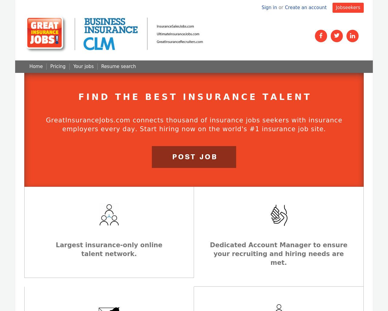 Great-Insurance-Jobs-Advertising-Reviews-Pricing